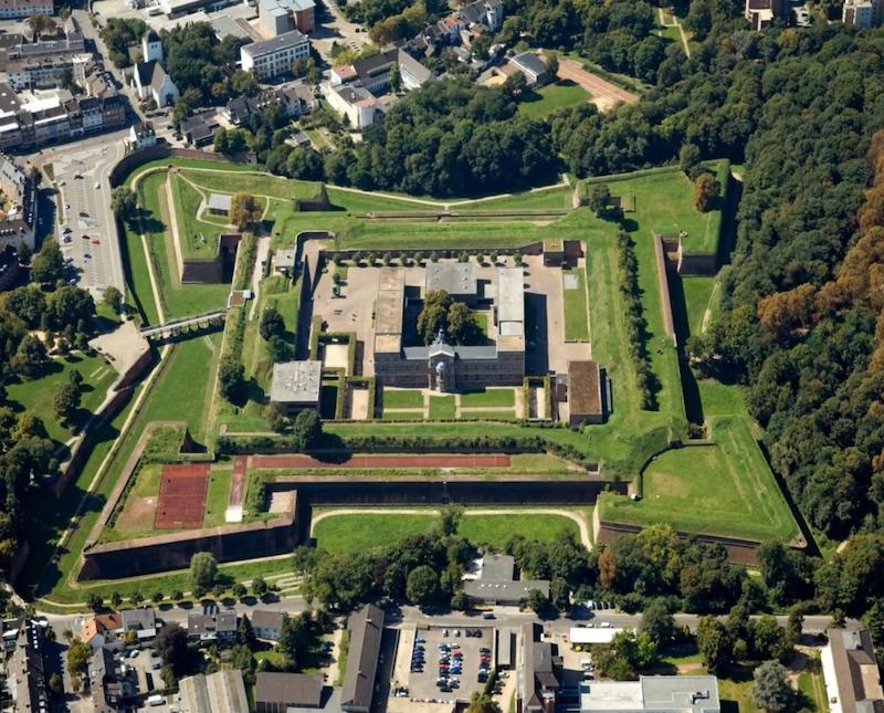 Luftaufnahme der Zitadelle (2019)
